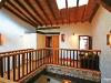 Pasarela hacia la Habitacion del Balcon de la Casa Rural con Encanto y Romántica en Salamanca Balneario