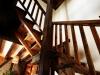 alojamiento hotel rural spa Escalera de la Casa Rural Romántica con Encanto en Salamanca Orgullo Rural