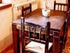 hotel rural Mesa del Comedor de la Casa Rural en con Encanto Salamanca Romántica Orgullo Rural