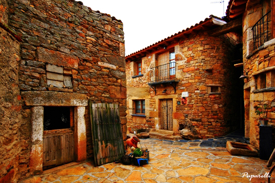 Casa rural con spa privado en salamanca therma agreste - Decoracion casa rural ...