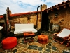 Terraza de la Casa Rural con Spa Privado Romántica y con Encanto Terma Agreste