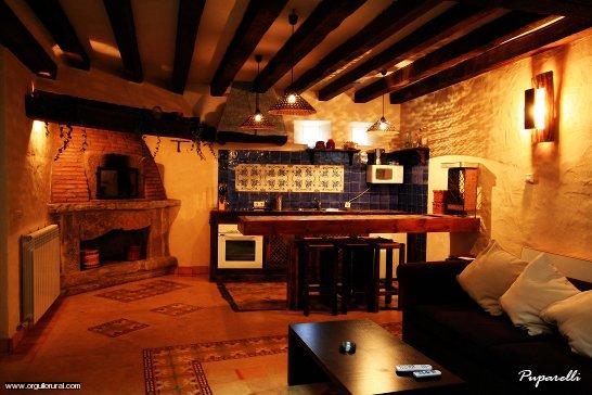 Casa rural y hotel rural con spa privado en for Cocinas casas rurales