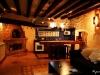 Salon y Cocina de la Casa Rural con Spa Privado Romántica con Encanto en Salamanca Balneario
