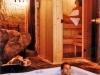 hotel rural spa Jacuzzi y Sauna del Spa Privado Romántico con EncantoCueva Termal