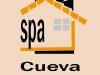 hotel rural spa Logotipo del Spa Privado Romántico con EncantoCueva Termal