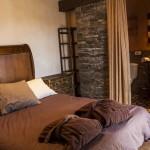 habitación roble hotel rural en Arribes del Duero