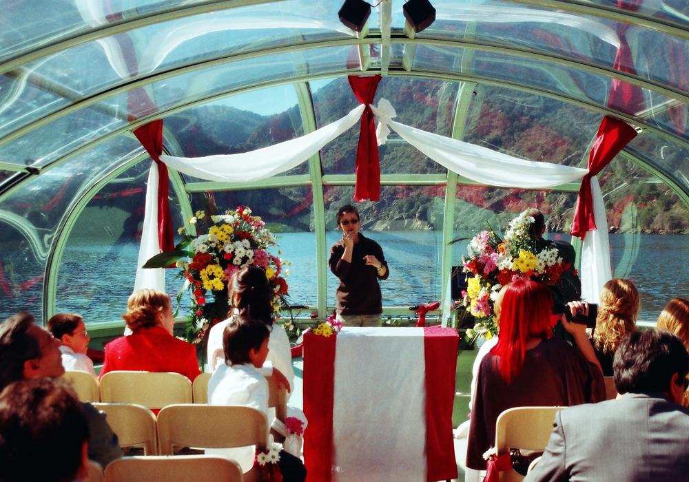 bodas naturales Orgullo Rural, boda en el barco