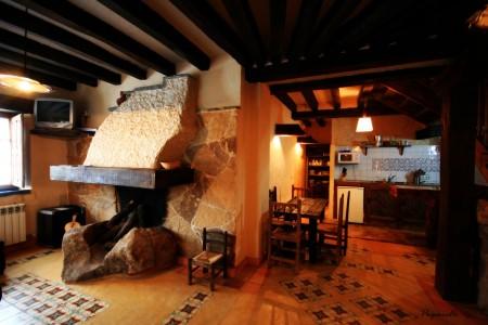 chimenea casa rural therma agreste Arribes del Duero, Salamanca