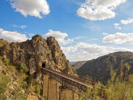 ruta del ferrocarril Arribes del Duero