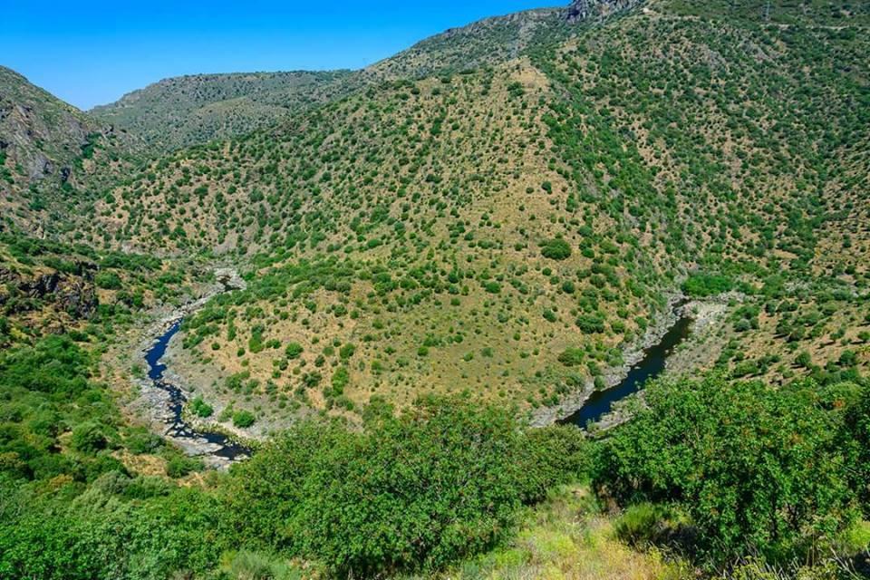 Arribes del Duero, piscinas naturales en Puerto de la Molinera