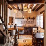 casa rural con spa y mucho encanto Orgullo Rural cocina