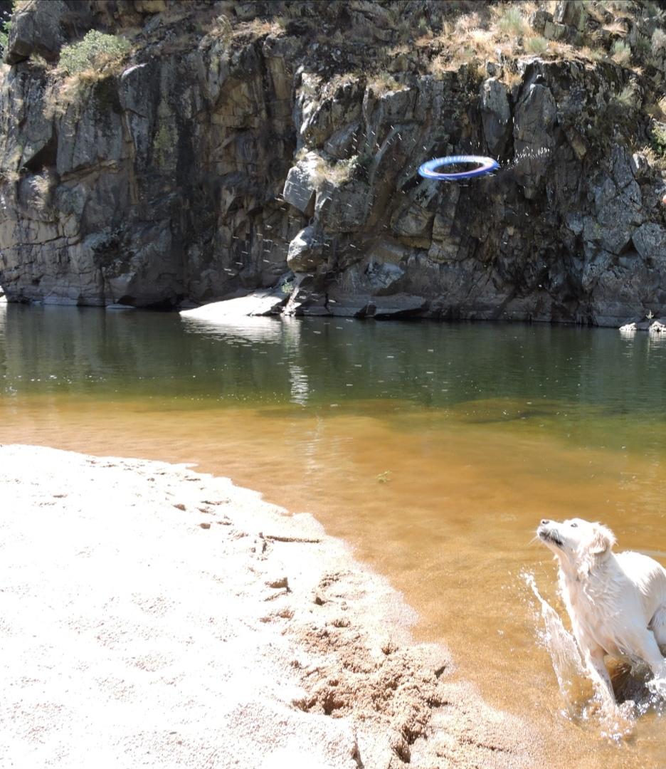 Zona de baño del puente de los Franceses, Arribes del Duero